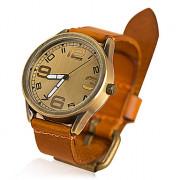 2013 новые женские часы старинные коровы кожа дамы кварцевые часы женщины мужчины платье часы для женщин