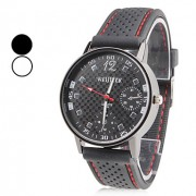 Аналоговые кварцевые часы унисекс (черные)