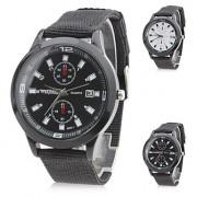 Аналоговые кварцевые часы унисекс gz0006079 (черные)
