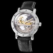 Аналоговые механические наручные часы унисекс с прозрачным дизайном (разные цвета)