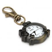 бабочка унисекс сплава аналоговые кварцевые часы брелок (бронза)