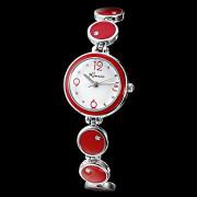 Белый циферблат женские сплава аналоговые кварцевые часы браслет (разных цветов)
