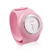 большой размер силиконовые paipai часы, розовый