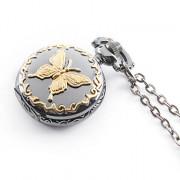 Часы-подвеска с бабочкой