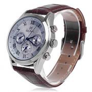 Daybird 3781 Мужская мода Искусственный 3 Eyes Риме Цифровые кварцевые аналоговые наручные часы (разных цветов)