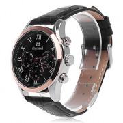 Daybird 3781 Мужская мода Искусственный 3 глаза и Рима Цифровые кварцевые аналоговые наручные часы