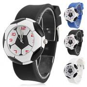 Детские аналоговые кварцевые наручные часы с силиконовым ремешком (разные цвета)