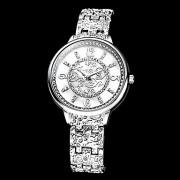 Diamante Женские Vine Pattern набора Сплав группы Кварцевые аналоговые наручные часы (разных цветов)