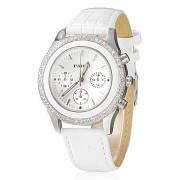 Diamante женский набор сплава группы кварцевые аналоговые наручные часы (разных цветов)