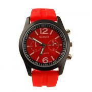 диапазон силикона классический опрятный стиль мужчины женщины мальчик девочка спортивные наручные часы