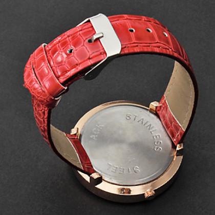 Эйфелева Женские Pattern PU Группа Аналоговые кварцевые наручные часы (разных цветов)