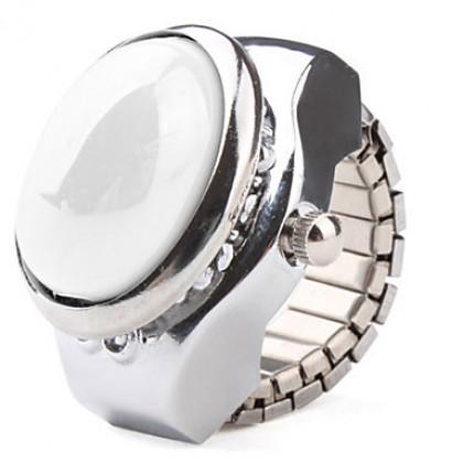 эллиптической жемчужиной случае металлическое кольцо смотреть