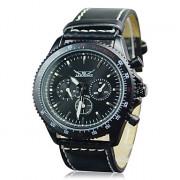 Hot! Мужские  наручные часы-скелетон из стали (механические)