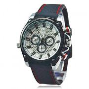 Hot! Последнее White Deluxe AUTO Механическая 6 рук мужские спортивные часы наручные часы спорта