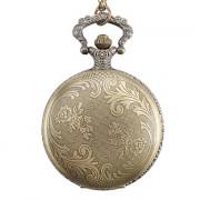 Карманные часы унисекс из металлического сплава (под бронзу)