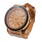 Кожа PU группы привели моды наручные часы
