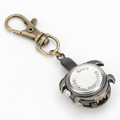 "Кварцевые аналоговые часы-брелок унисекс ""Черепаха"""