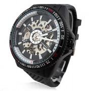 Мужская Автоматическая Механическая Роскошные стальной каркас наручные часы 15
