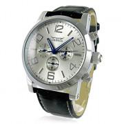 Мужская Автоматическая Механическая Роскошные стальной каркас наручные часы 18
