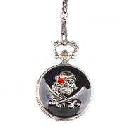 Мужская Пиратский сплав аналоговые кварцевые наручные часы (бронза)