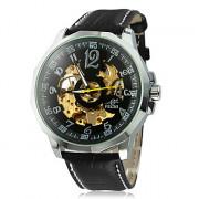 Мужская Silver Корпус PU Механические наручные часы Аналоговые (разных цветов)