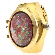 Мужская сплава аналоговые кварцевые часы кольцо (золото)