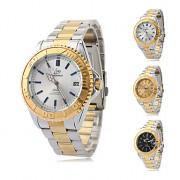 Мужская сплава аналогового Механические наручные часы (серебро-золото)