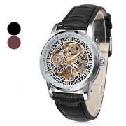 Мужская сплава аналогового механических наручных часов (разных цветов)