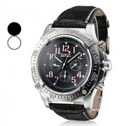 Мужская Водонепроницаемые Аналоговый Стиль PU Механические наручные часы (разных цветов)