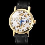 Мужская золота PU Механические наручные часы Аналоговые (разных цветов)