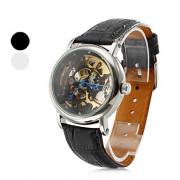 мужские пу аналоговые механические наручные часы (ассорти цветов)