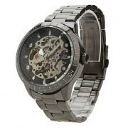 мужские сплава аналоговый механических наручных часов 9383 (черный)