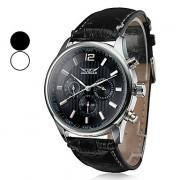 Мужские водонепроницаемые механические наручные часы с календарем. Цвета в ассортименте.