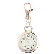 нержавеющей стали карманные часы с брелок