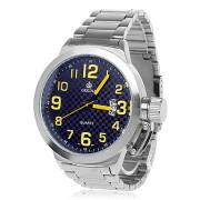 ORKINA P0029 Мужская модная Calenda Простые кварцевые наручные часы г (разных цветов)