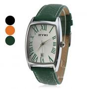 PU женщин Аналоговые кварцевые наручные часы (разных цветов)