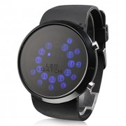 Rall мяч шаблон синий светодиод наручные часы