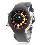 Светодиодные цифровые часы унисекс (черные)