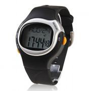 Цифровые наручные часы унисекс с силиконовым ремешком с функциями тонометра, секундомера, календаря, будильника