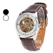 унисекс ПУ аналоговые автоматические механические наручные часы (ассорти цветов)