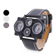 унисекс ПУ аналоговые кварцевые наручные часы (ассорти)