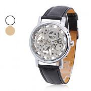 унисекс PU аналоговых полумеханических модные часы (разных цветов)