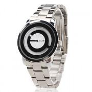 унисекс стали аналоговые кварцевые наручные часы (ассорти)