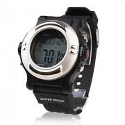 водонепроницаемый импульс сердца калорий, скорость монитор противодействия автоматические часы с будильником