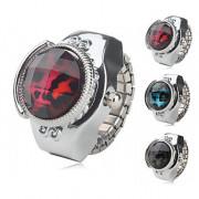 женщин сплава аналоговые часы, кольцо с зерном леопарда (разных цветов)