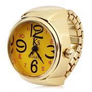 женщины сплава аналоговые кварцевые часы кольцо (золото)