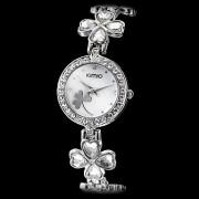 женская алмаз случае цветок сплава типа аналогового вахты браслета кварца (разные цвета)