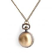 женская круглый сплава кварцевые аналоговые вахта ожерелья