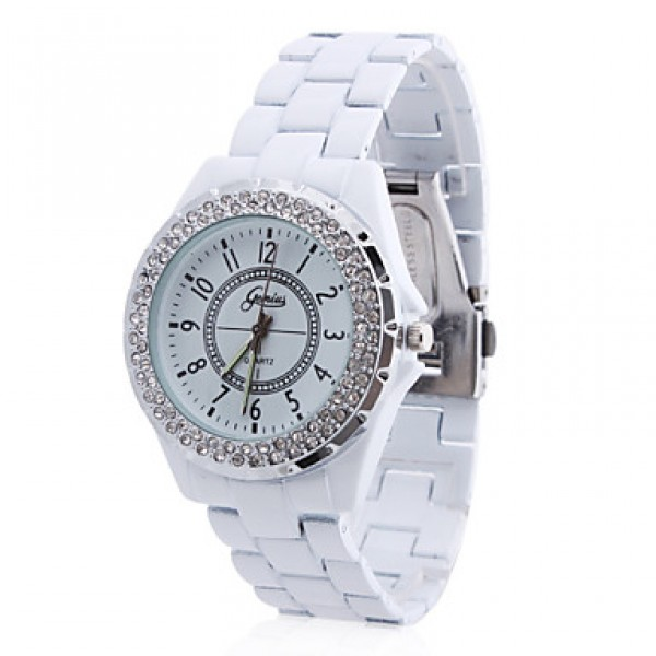 женские наручные часы с ремешком, часы с белым ремешком женские, белые наручные часы, наручные часы