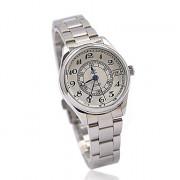 Женские механические наручные часы  на стальном ремешке